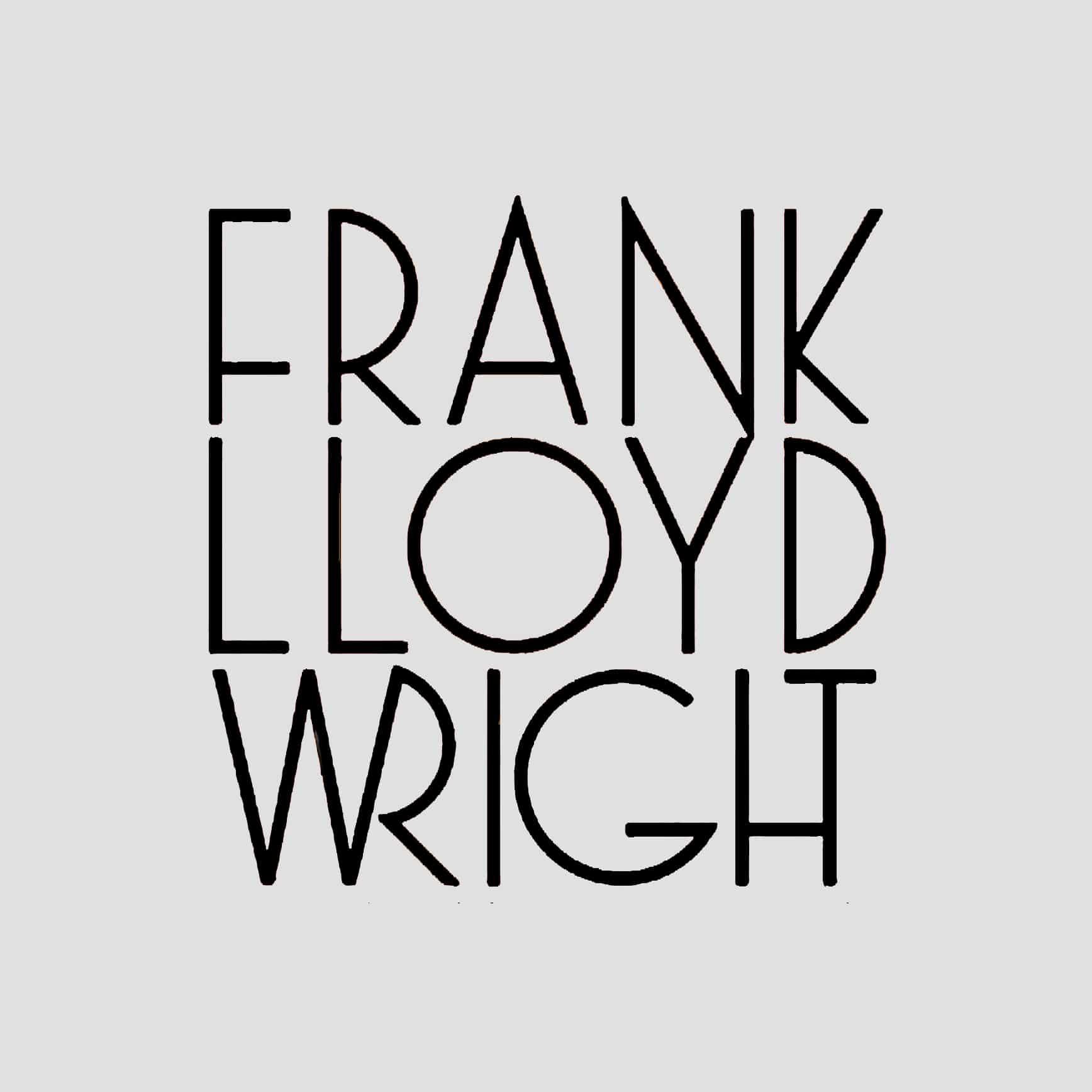 Frank Lloyd Wright Logo